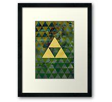 Geometric Link Framed Print