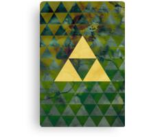 Geometric Link Canvas Print