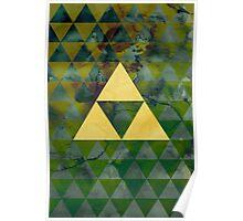 Geometric Link Poster