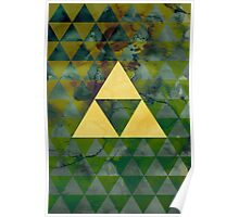 Geometric Link Poster