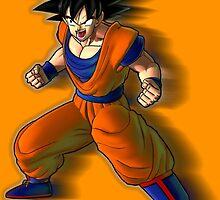 Goku by PollaDorada