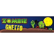 ZOMBIE GHETTO OFFICIAL ARTWORK DESIGN T-SHIRT Photographic Print