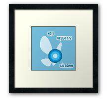 Navi pixel art Framed Print