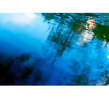 Currarong Pool Abstract Photographic Print