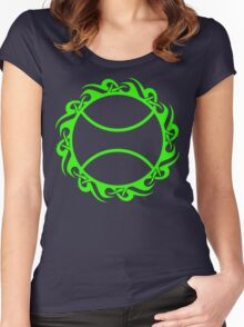 tennis : tribalz Women's Fitted Scoop T-Shirt