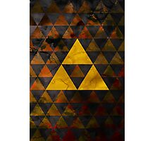 Geometric Ganondorf Photographic Print
