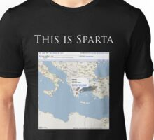 Actually, This is Sparta. Unisex T-Shirt