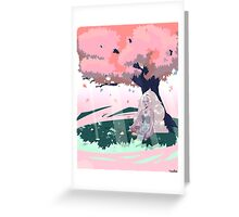 Opal the Giant Woman Greeting Card