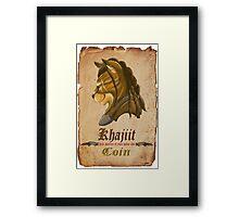 Khajiit has wares Framed Print