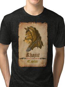 Khajiit has wares Tri-blend T-Shirt
