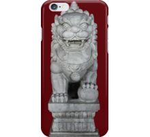 Guardian of the Temple iPhone Case/Skin