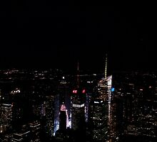 View from 86th floor by fridabergman