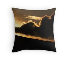 Trail Blazing Sunset Throw Pillow