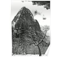 CATHEDRAL ROCK,WINTER Poster