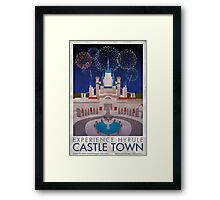 Experience Hyrule Castle Town Framed Print