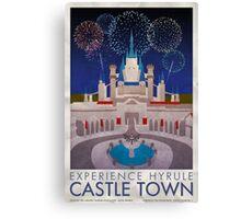 Experience Hyrule Castle Town Canvas Print