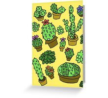 Cactus. Greeting Card