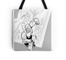 Vigil pin up #4 Tote Bag