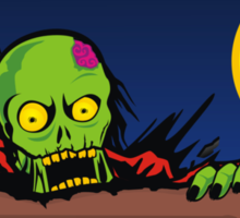 ZOMBIE GHETTO OFFICIAL ARTWORK DESIGN T-SHIRT Sticker