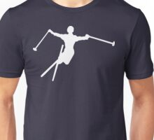 ski : silhouettes Unisex T-Shirt