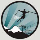 ski : powder trail by asyrum