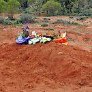 The Bush Burial, Silverton, New South Wales, Australia by Adrian Paul