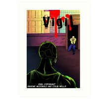 Vigil #3 Cover Art Print