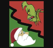 Santa Vs. The Grinch by artistman