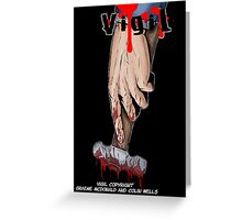 Vigil #2 Cover Greeting Card