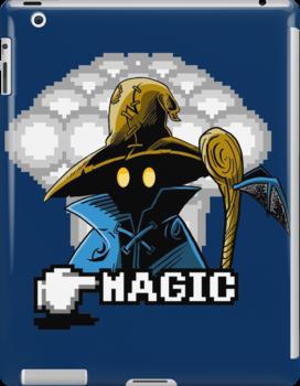 Black Mage by iamdeadfish