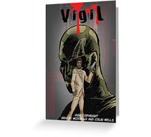 Vigil #1 Cover Greeting Card