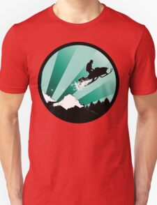snowmobile : powder trail Unisex T-Shirt