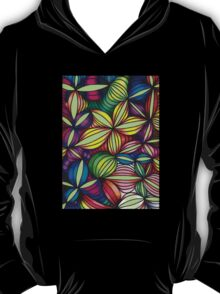 Colorful op art T-Shirt