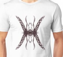 Abstract Satanic Peacock Unisex T-Shirt