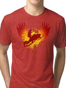 snowmobile hi-fi Tri-blend T-Shirt