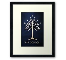 For Gondor (Clean) Framed Print