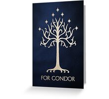 For Gondor (Clean) Greeting Card