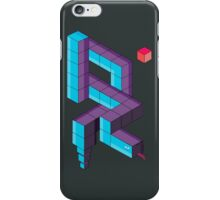 8bit Snake 3d iPhone Case/Skin