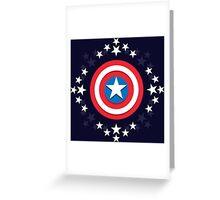 Captain America Stars - V.01 Greeting Card
