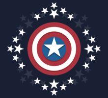 Captain America Stars - V.01 by Bradley Carpenter