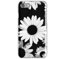 Daisies, Black and White iPhone Case/Skin