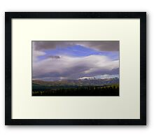 In the Hall of the Mountain King- The Hidden Valley Framed Print