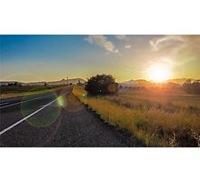 Country Glow Photographic Print