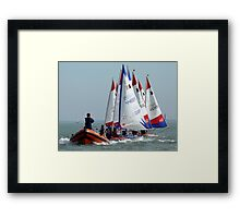 JDP Training at Bradwell Framed Print