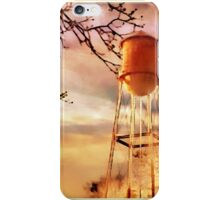 Small Town Sunday Morning iPhone Case/Skin