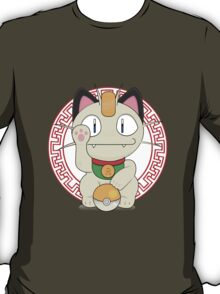 Maneki meowth T-Shirt