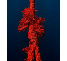 The short-tempered rope Photographic Print