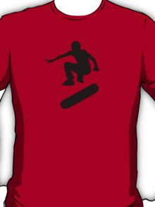 skateboard : silhouettes (SMALL) T-Shirt