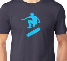 skateboard : silhouettes (SMALL) Unisex T-Shirt