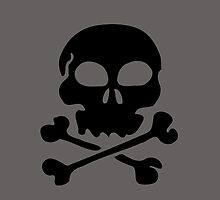 SKULL AND CROSSBONES by Zombie Ghetto by ZombieGhetto